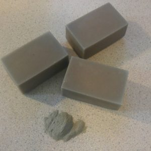 Lavender clay soap pic